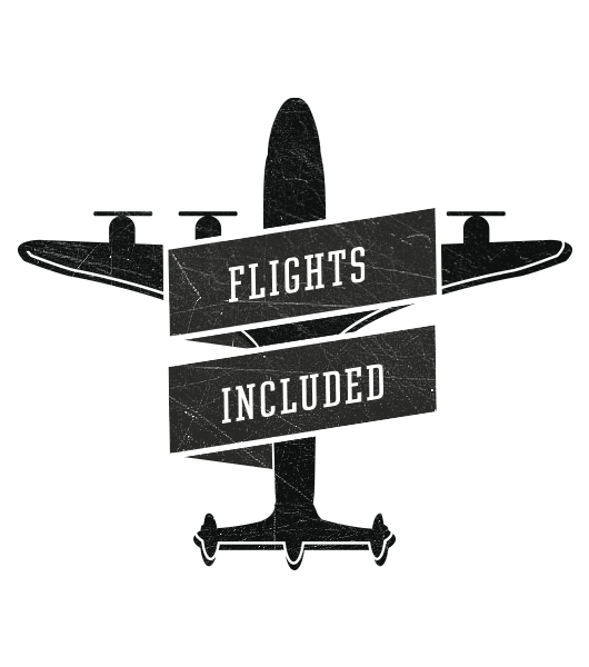 All inclusive - also the flights